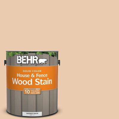 1 gal. #270E-2 Sandpoint Solid Color House and Fence Exterior Wood Stain