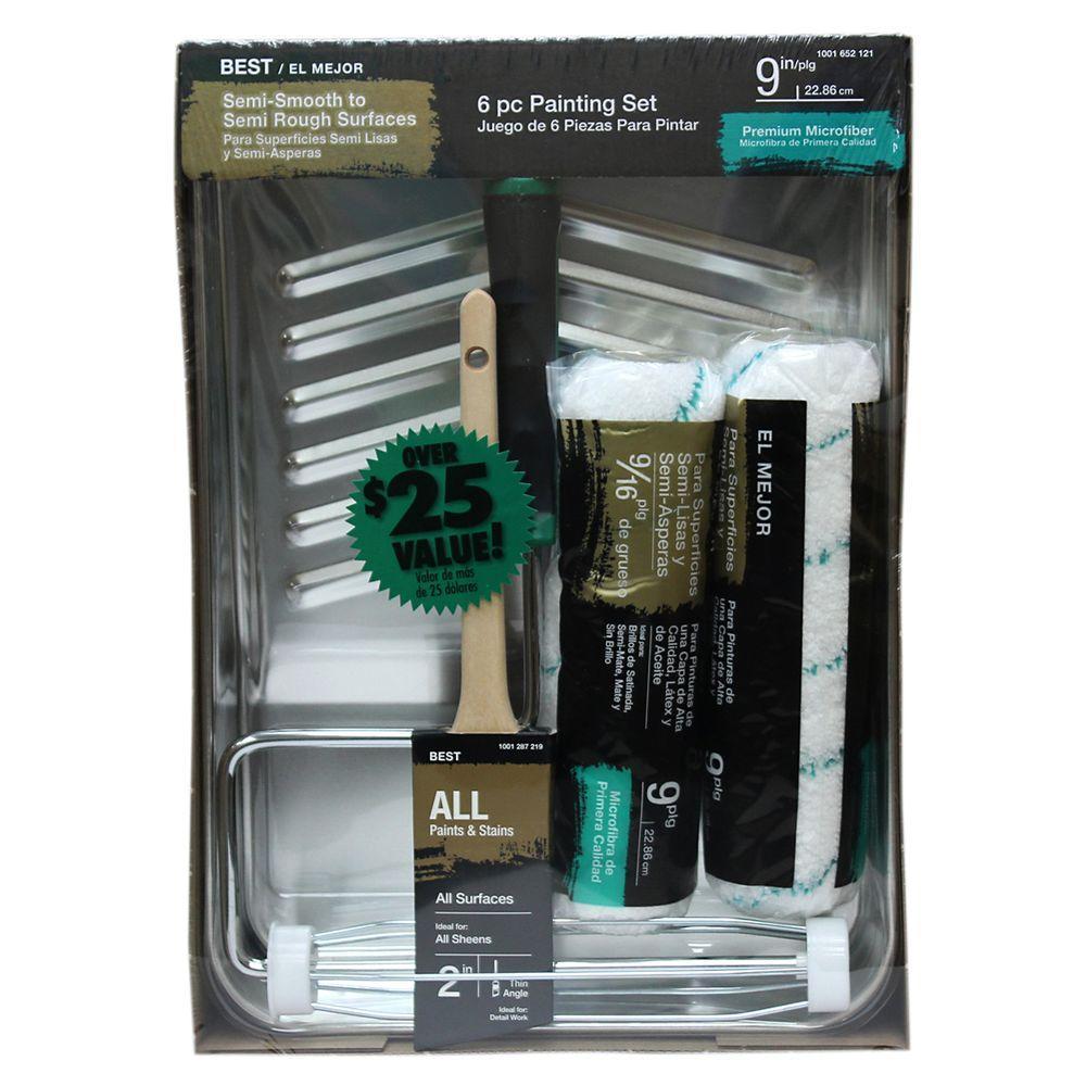 Best Microfiber Tray Kit (6-Piece)