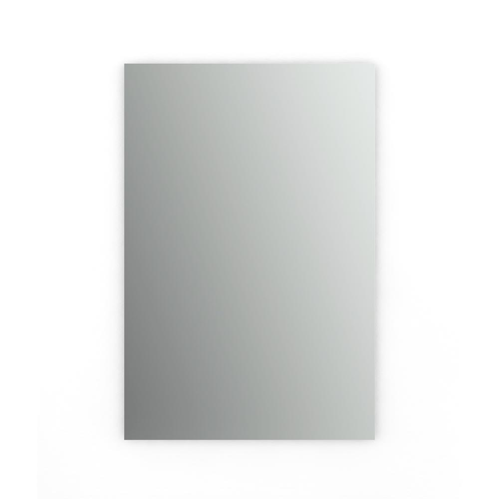 24 in. W x 36 in. H (M3) Frameless Rectangular Standard Glass Bathroom Vanity Mirror