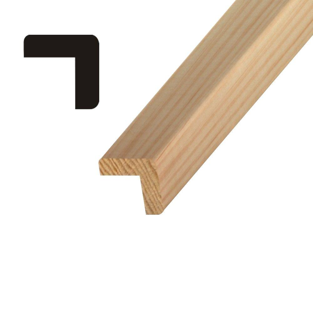 Builders Choice OP 204 1-3/8 in. x 1-3/8 in. Pine Outside Corner Moulding