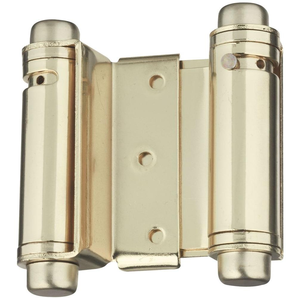 Stanley-National Hardware 3 in. Double Acting Hinge
