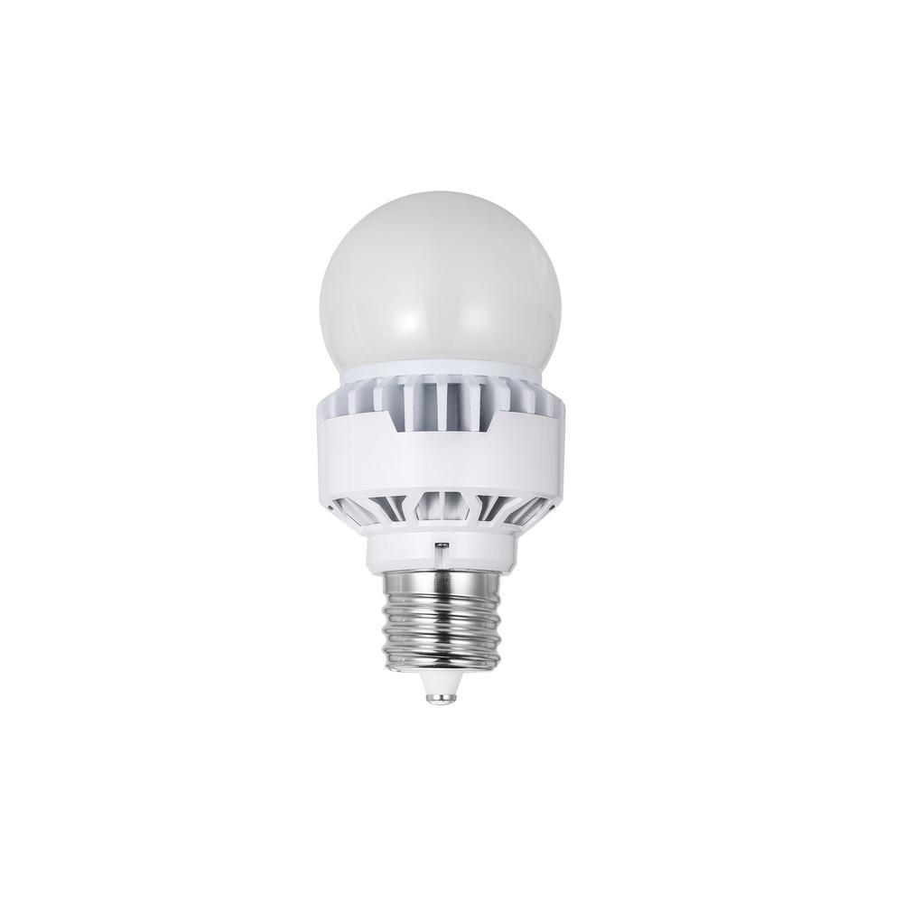 Halco 150-Watt Equivalent 35-Watt Corn Cob A23 HID LED Post Top Bypass Light Bulb Mogul 120-277-Volt Daylight