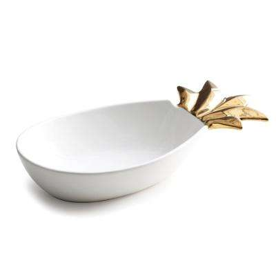 Patio Party Large Pineapple Serving Bowl