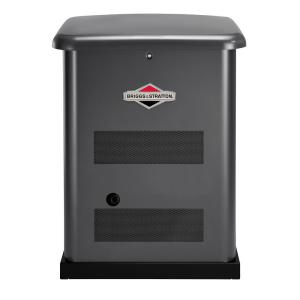 Click here to buy Briggs & Stratton 12,000-Watt Automatic Air Cooled Standby Generator with 150 Amp Transfer Switch by Briggs & Stratton.