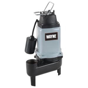 Wayne 120-Volt 1/2 HP Sewage Pump by Wayne
