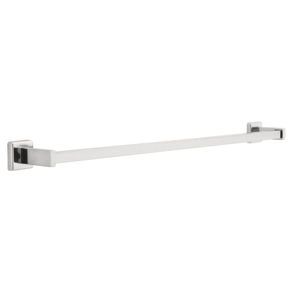 Franklin Brass Century 30 in. Towel Bar in Polished Stainless