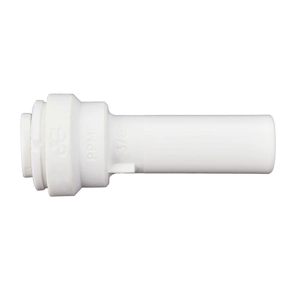3/8 in. x 1/4 in. Polypropylene Push-to-Connect Reducer (10-Pack)