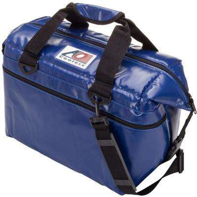 30 Qt. Soft Vinyl Cooler with Shoulder Strap and Wide Outside Pocket