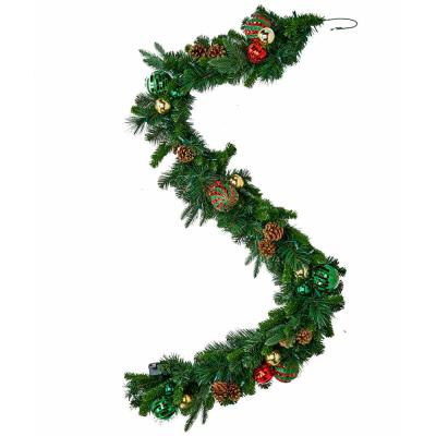 Worth Imports 6 ft. Lighted Decorated Garland with Timer