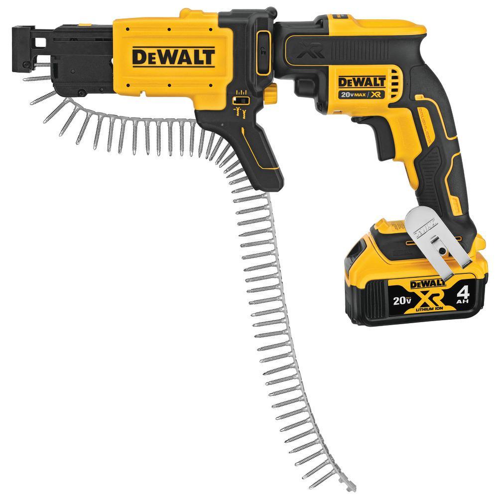 DeWALT DCF620 20V XR Li-Ion 5.0 Ah Brushless Drywall Screwgun Screwdriver Drill