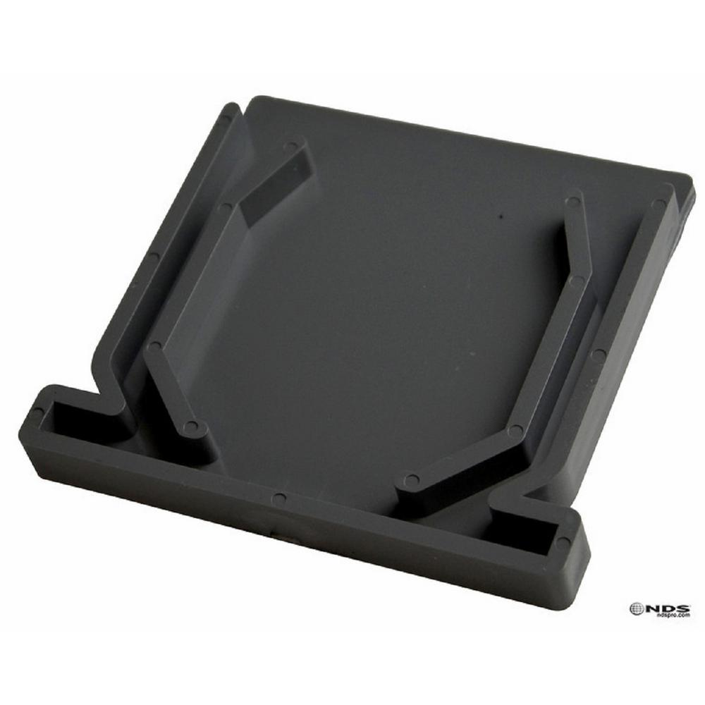 NDS NDS 4 in. PVC Spee-D Channel End Cap