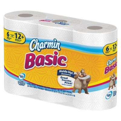3.88 in. x 4 in. Toilet Paper 1-Ply (308 Sheets/Roll - 6 per Pack)