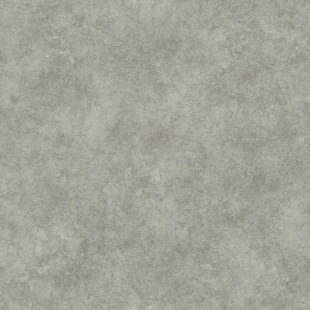 8 in. x 10 in. Reale Grey Stone Wallpaper Sample
