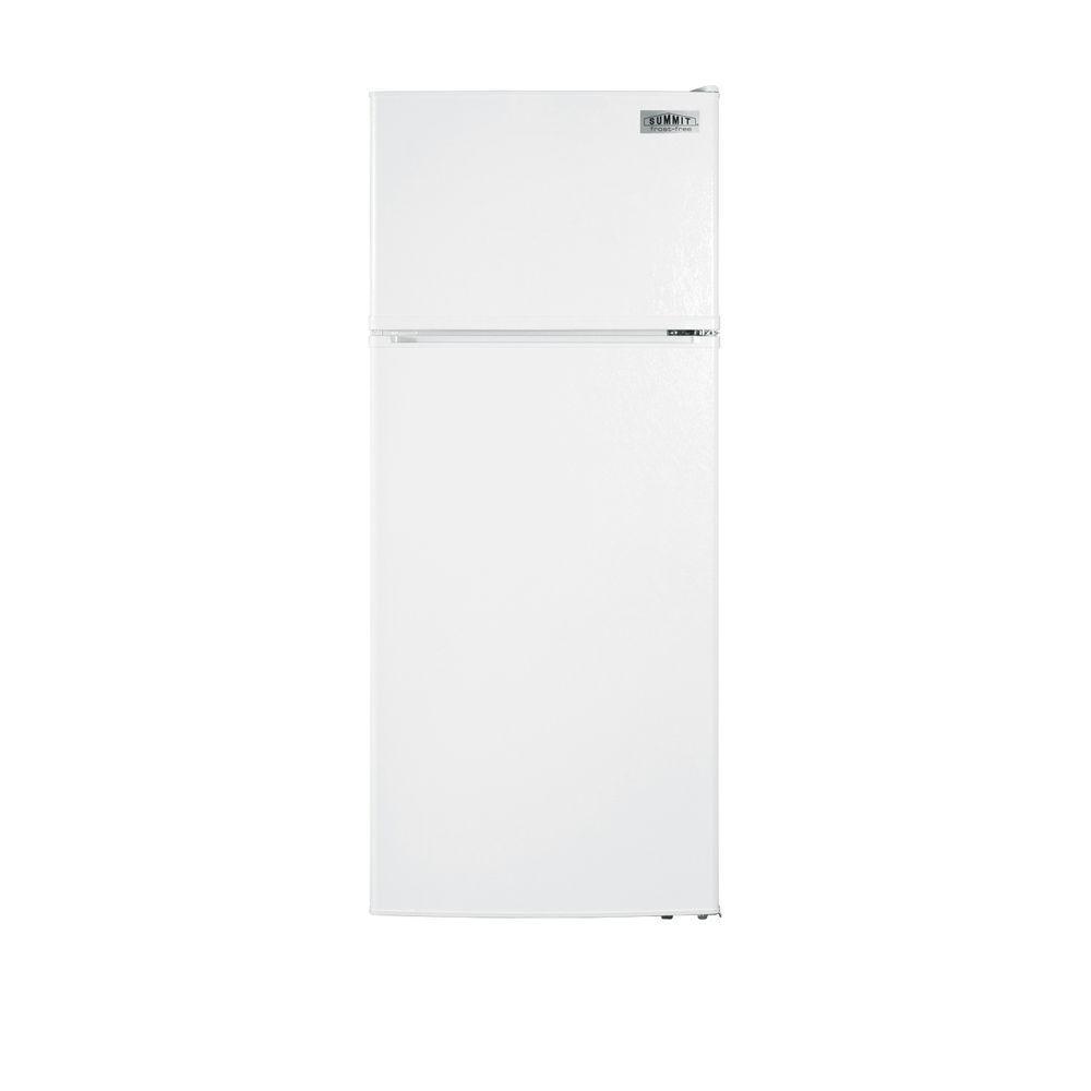 Summit Appliance 10.3 cu. ft. Top Freezer Refrigerator in White