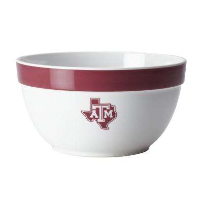 Texas A&M Big Party Bowl, 4.75-Quart, Maroon