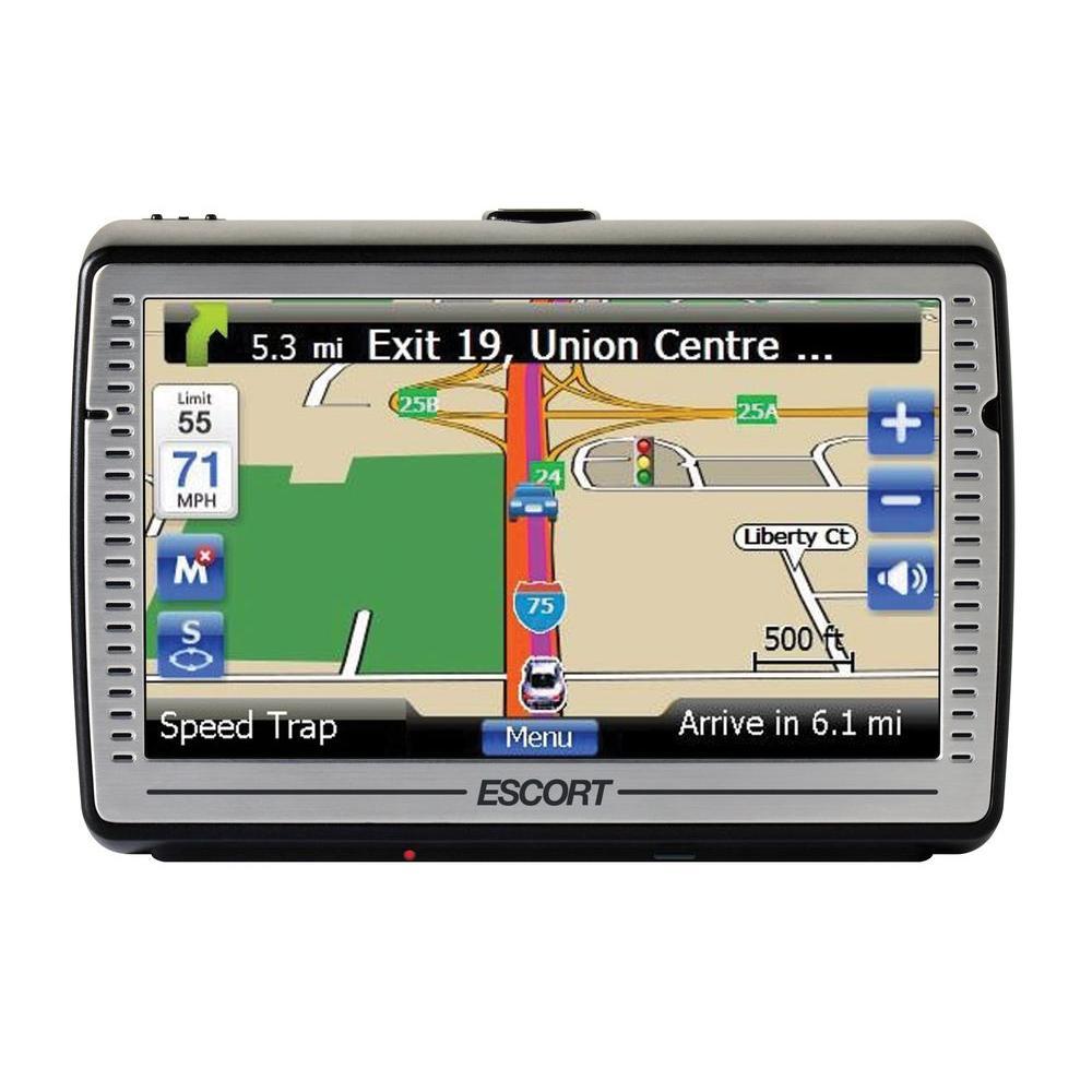 Escort GPS Navigator with Radar & Laser Detection
