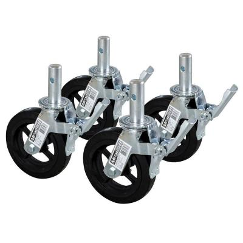 8 in. Scaffold Caster Wheel (4-Pack)