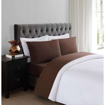 Everyday Brown King Sheet Set