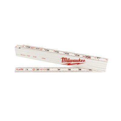 78 in. Composite Folding Ruler