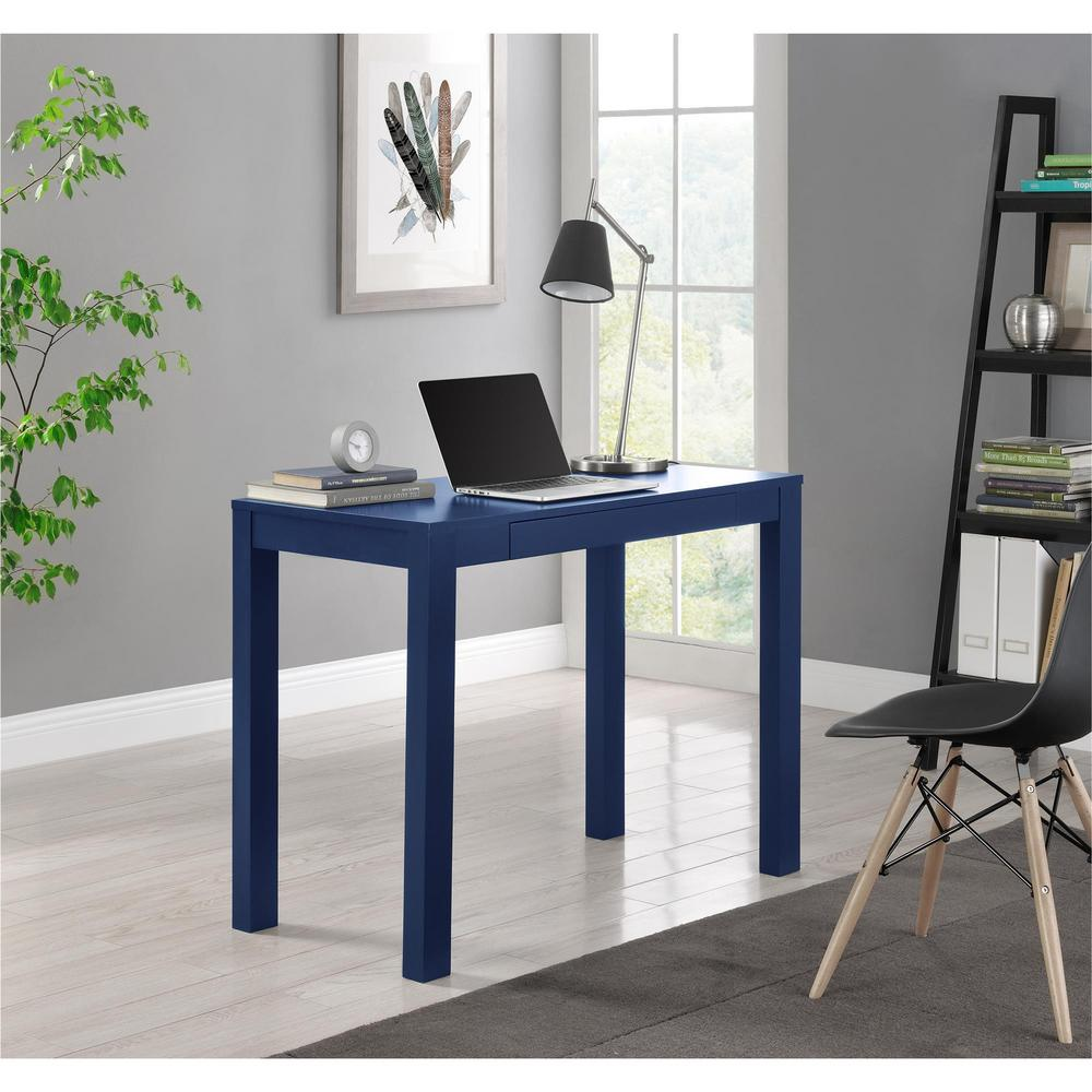 Altra Furniture Parsons Navy Desk 9859496com The Home Depot