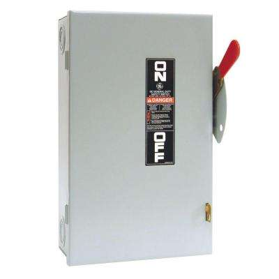 60 Amp 240-Volt Non-Fuse Indoor Safety Switch