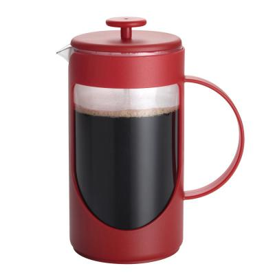 Ami-Matin 3-Cup French Press in Red