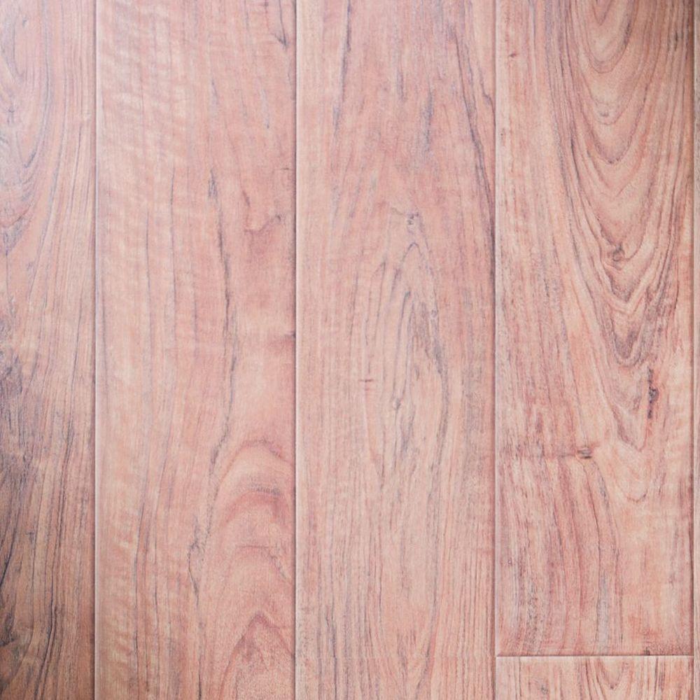 Innovations Augusta Pecan Laminate Flooring - 5 in. x 7 in. Take Home Sample