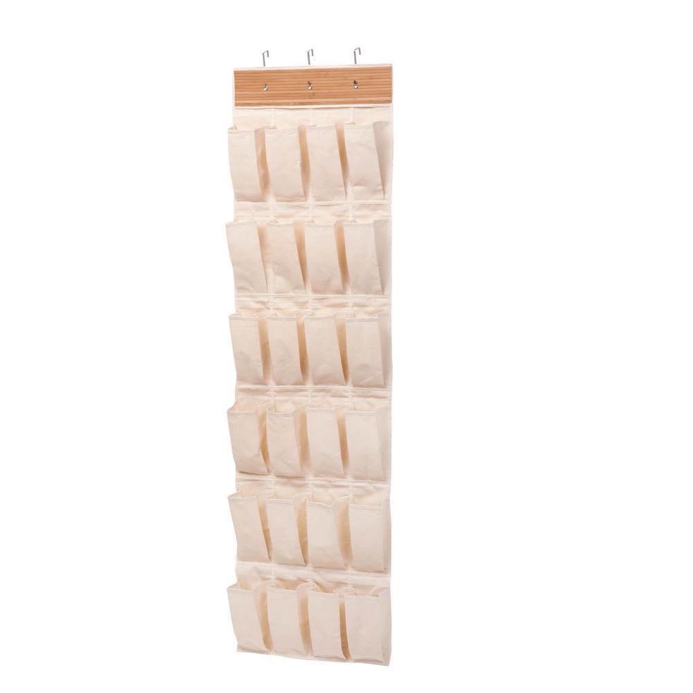 Honey Can Do Over The Door 24 Pocket Shoe Organizer In
