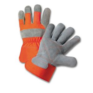 West Chester Split Cowhide Leather Palm Medium Work Gloves by West Chester