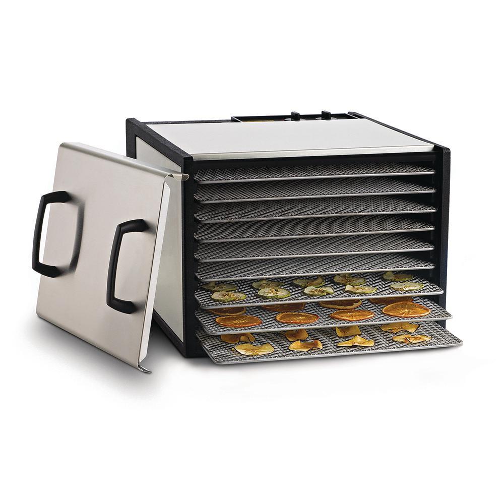 Excalibur Heavy Duty 9-Tray Food Dehydrator, Silver
