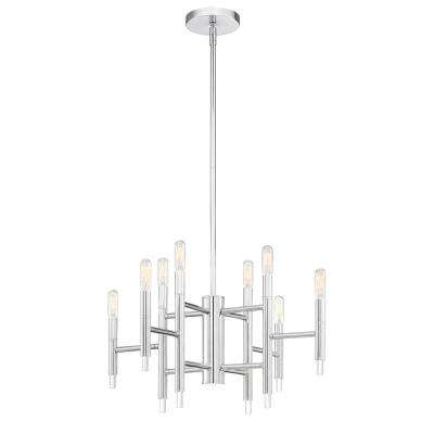 Jessa 8-Light Chrome Chandelier