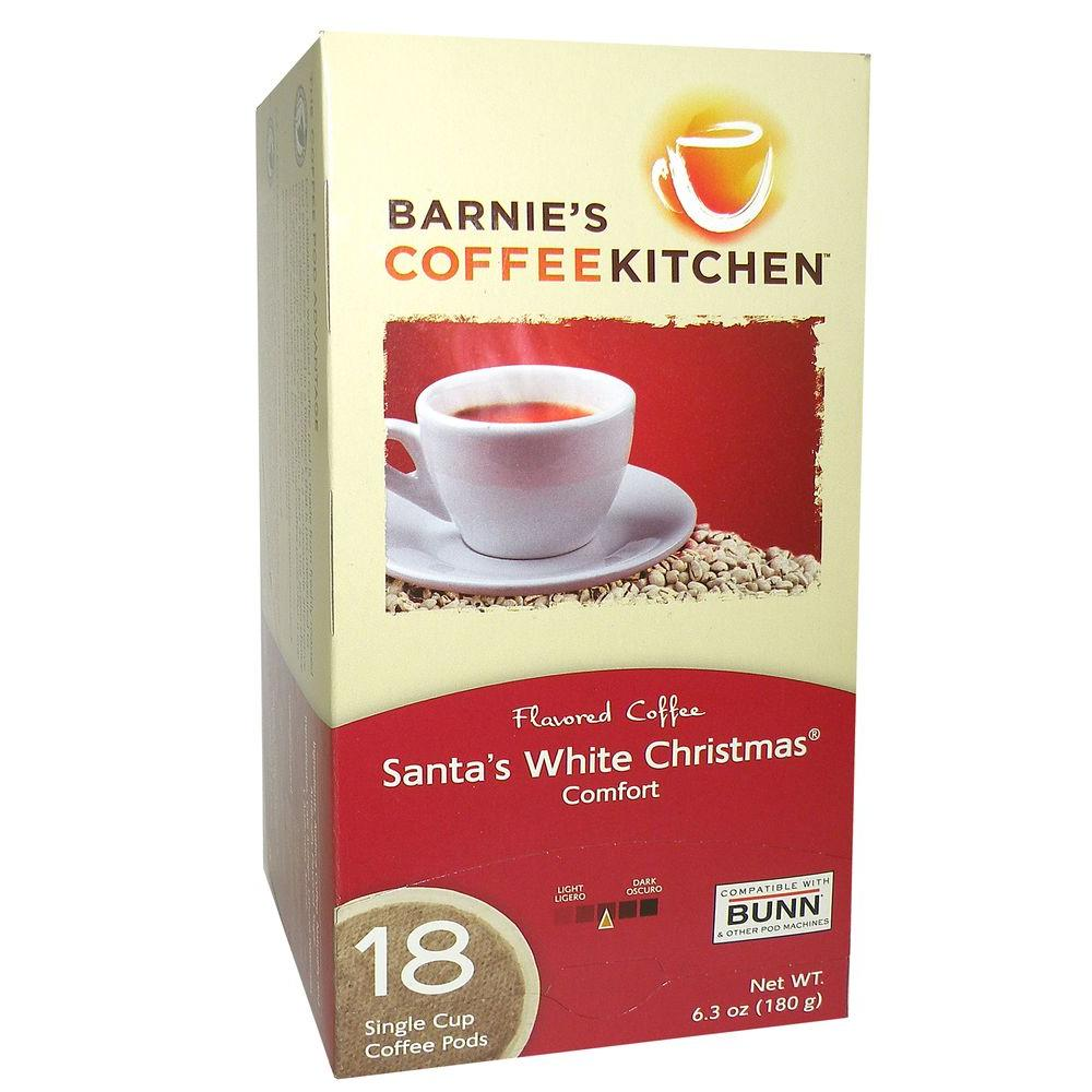 Barnie's Santa's White Christmas Coffee Pods, 18-count-DISCONTINUED