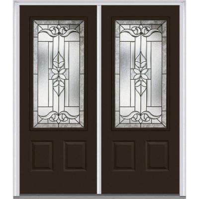 64 in x 80 in cadence right hand 34 lite 2 - Exterior Double Doors