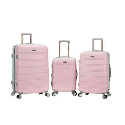 3-Piece ABS Upright Set with Spinner Wheels Luggage