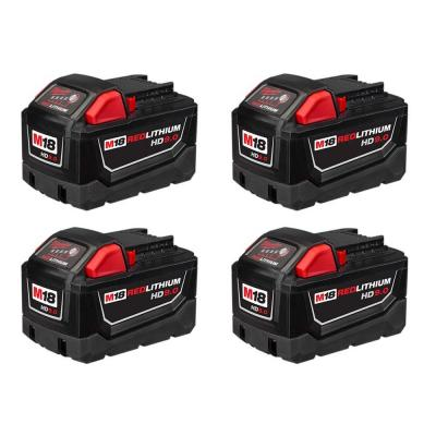 M18 18-Volt Lithium-Ion High Demand Battery Pack 9.0Ah (4-Pack)