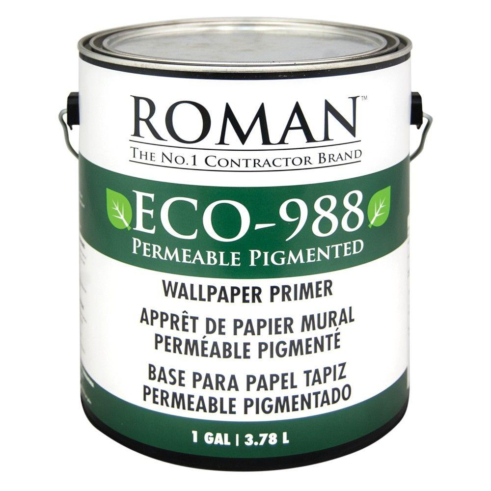 Roman ECO-988 1 gal. Pigmented Wallcovering Primer