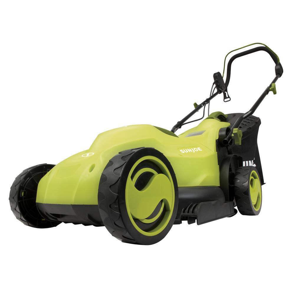 13 in. 12 Amp Electric Walk-Behind Push Lawn Mower