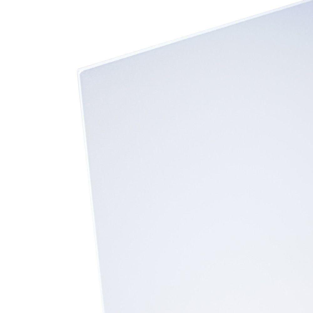 OPTIX 48 in. x 96 in. x 1/8 in. Frosted Acrylic Sheet