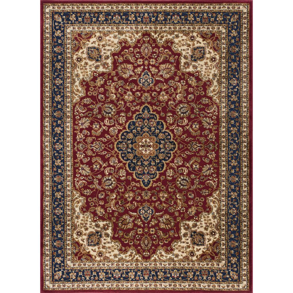Tayse Rugs Sensation Red 8 Ft 9 In X 12 Ft 3 In