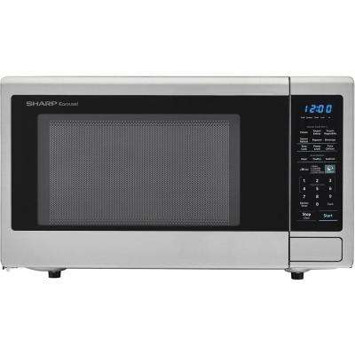 1100w Countertop Microwave Oven In Stainless Steel Ista 6