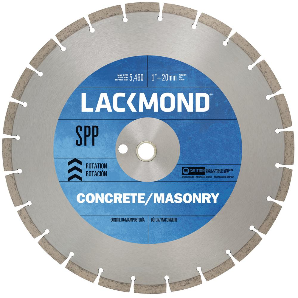 12 in. High Speed Segmented Diamond Blade for Cured Concrete and