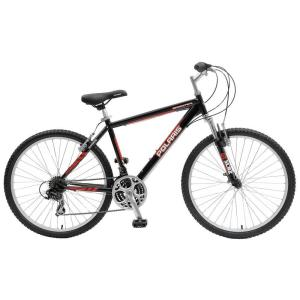 Polaris 600RR M.1 Hard Tail Mountain Bike, 26 inch Wheels, 18.5 inch Frame, Men's Bike in Black by Polaris