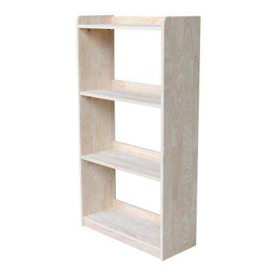 Abby 50 in. H Unfinished Bookcase