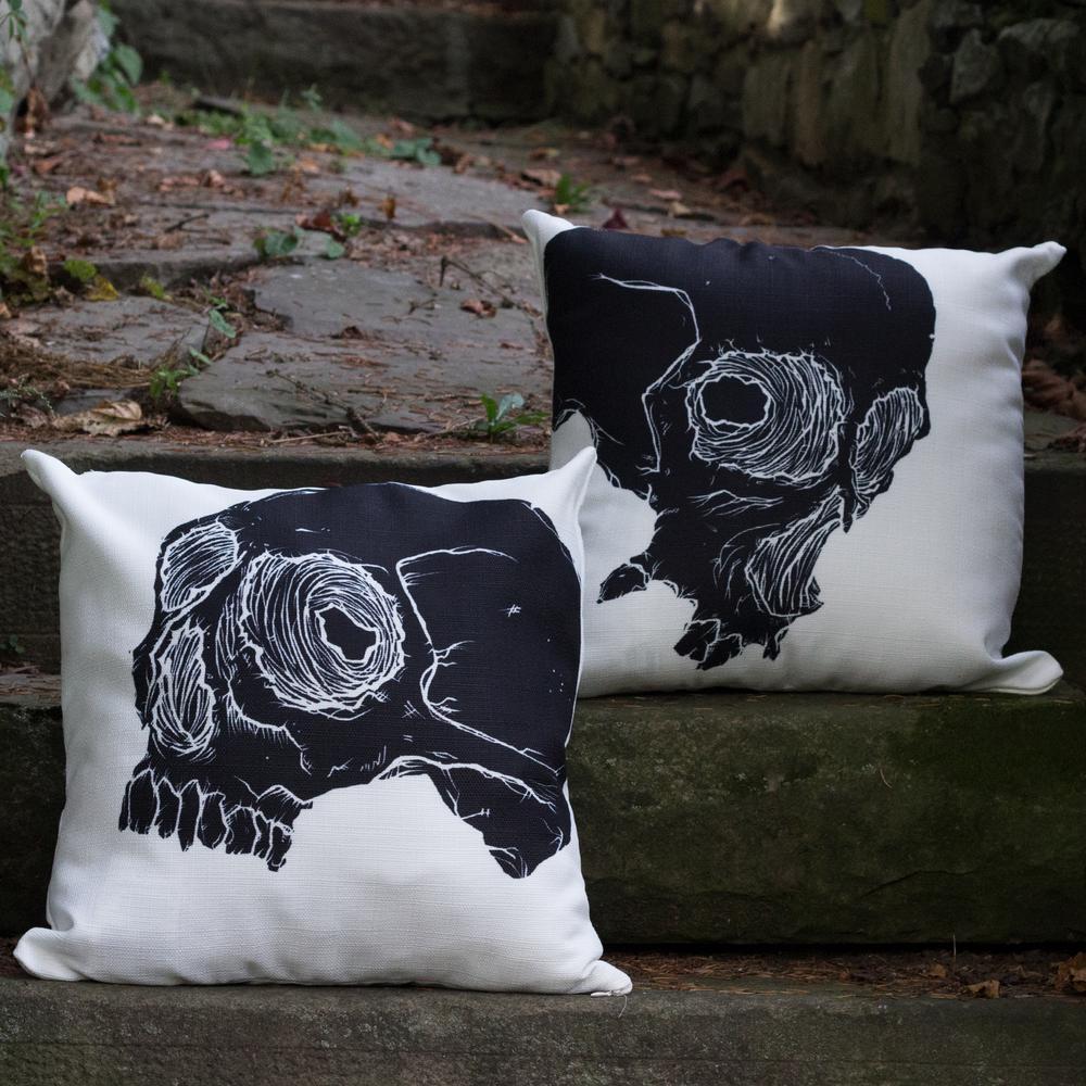 Skull Decorative Pillow Set