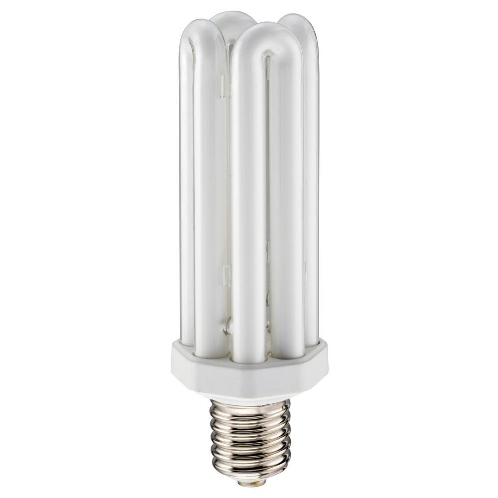 Lithonia lighting 65 watt medium base fluorescent replacement lamp cf65qt41 m6 the home depot Fluorescent light bulb