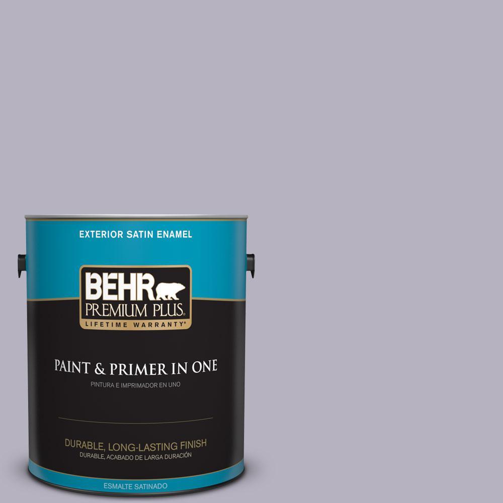 1-gal. #N560-2 Coveted Gem Satin Enamel Exterior Paint