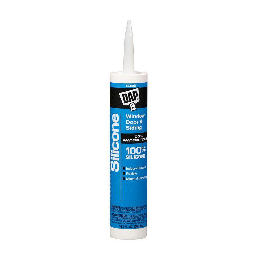 Dap Silicone 10 1 Oz Clear Window Door And Siding