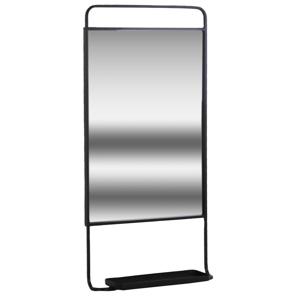 14 in. x 28.5 in. 1 Metal Wall Shelf