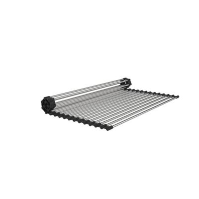 15 in. x 17 in. Stainless Steel Roll Up Sink Grid