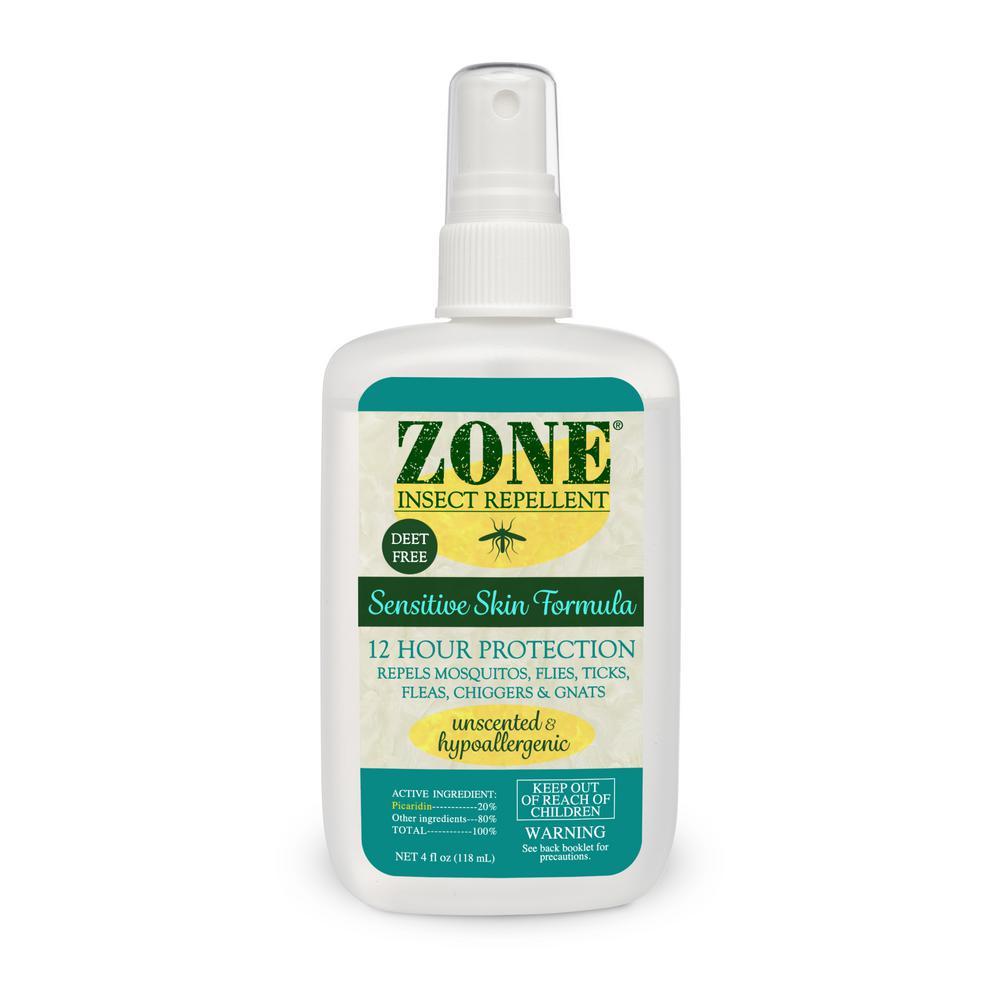 Zone Repellents Zone Insect Repellent Sensitive Skin Spray